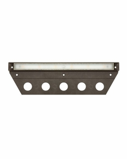 "Hinkley Nuvi LED 10"" Exterior Deck Light - Bronze 15448BZ"
