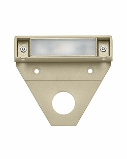 "Hinkley Nuvi LED 3.25"" 10 Pack Exterior Deck Light - Sandstone 15444ST-10"