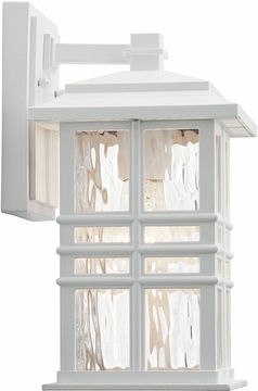 """Kichler Beacon Square 12"""" Outdoor Wall Mounted Light 49829WH"""