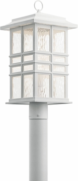 Kichler Beacon Square Outdoor Post Lantern 49832WH