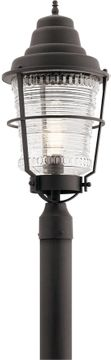 Kichler Chance Harbor Outdoor Post Lamp - Zinc 49941WZC