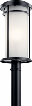 Kichler Toman Outdoor Post Lighting 49690BK