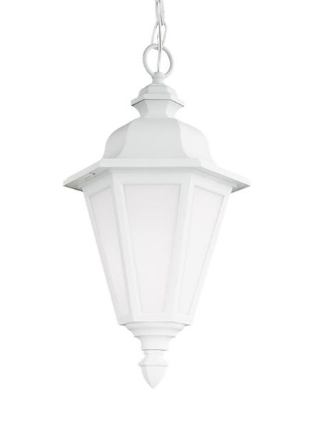 Sea Gull Bwood Outdoor Hanging Light White 69025 15