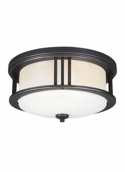 Sea Gull Crowell LED Outdoor Ceiling Lighting - Bronze 7847902EN3-71