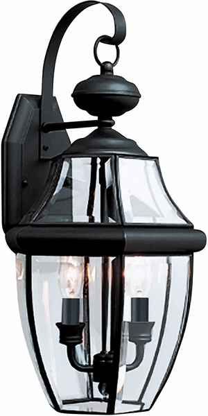 Outdoor Wall Sconce Black 8039