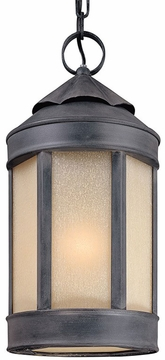"Troy Andersons Forge 18.5"" LED Outdoor Hanging Light FL1468AI"