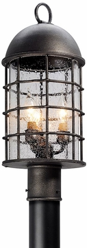 Troy Charlemagne Exterior Post Lamp P4435