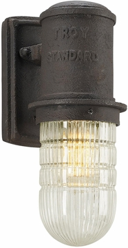 """Troy Dock Street Fluorescent 11.75"""" Outdoor Wall Sconce BF4341"""