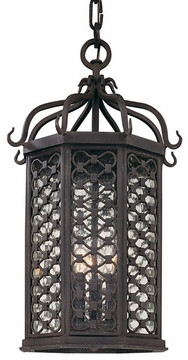 """Troy Los Olivos 20"""" LED Outdoor Hanging Lighting Fixture FL2377OI"""