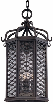 "Troy Los Olivos 25.25"" LED Outdoor Hanging Light Fixture FL2378OI"