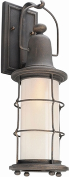 """Troy Maritime Fluorescent 19.5"""" Outdoor Wall Mount BF4441"""