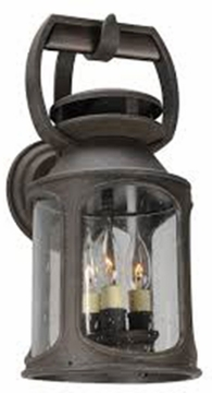 "Troy Old Trail Fluorescent 18"" Outdoor Wall Light BF4512"