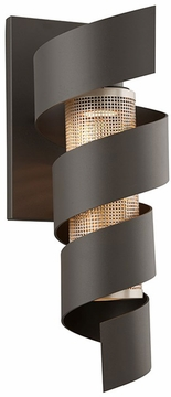 """Troy Vortex 22"""" LED Outdoor Wall Sconce B4265"""