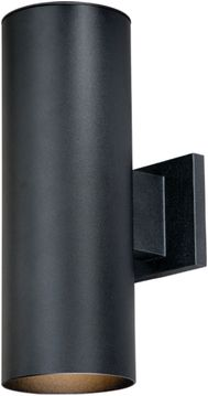 "Vaxcel Chiasso 14.25"" Outdoor Lamp Sconce - Textured Black CO-OWB052TB"