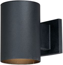 "Vaxcel Chiasso 7.25"" Exterior Lighting Wall Sconce - Textured Black CO-OWD050TB"