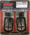 DRC 50mm Wide Foot Pegs for the Kawasaki KLX110 2002-2021