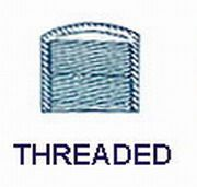 1-1/2'' Cap-Threaded
