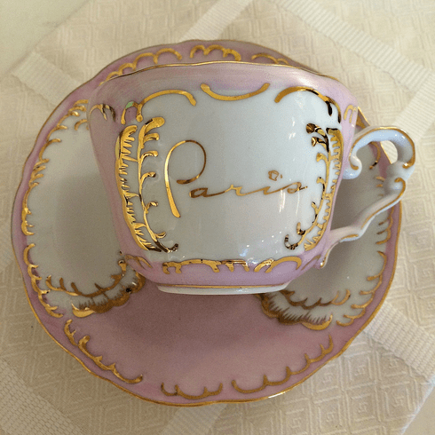 Paris In A Cup Small Cup & Saucer