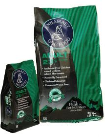 Annamaet ADULT GREEN Dog food provides a Holistic & Natural Way to feed your dog. from $11.98