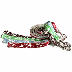 """Bamboo & Nylon Leads/Leash Width 5/8"""" Length 6ft. Price includes free shipping."""