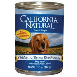 California Natural Chicken & Brown Rice Adult  from  $16.64