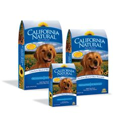 California Natural Chicken Meal & Rice Adult Dry Dog Food 15 lbs