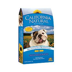 California Natural Low Fat Rice & Chicken Meal Dry Dog Food  30 lbs