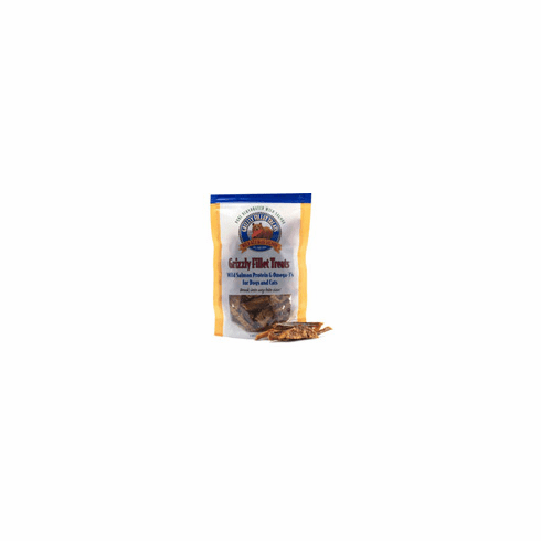 Grizzly Salmon Fillet Treats for Dogs & Cats (3 oz) **Price includes shipping**