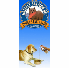 Grizzly Salmon Oil� All-natural salmon oil  from $8.99 (Sale price: $8.29)