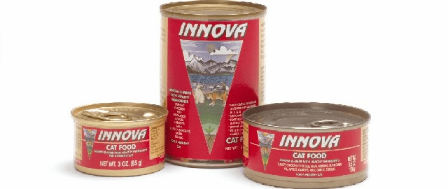 Innova 5.5 oz Canned Adult Cat Food Original and Reduced Fat Lite