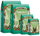Innova Adult Large Bite Adult Dry Dog Food - Large Bites from $6.05   Innova Adult Dry Dog Food is available in 2.2 lb., 6 lb., 15 lb. and 30 lb. packages.