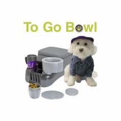 INTERNATIONAL To Go Bowl XL 1001 Cat and Dog Water bowl (Price includes International shipping)
