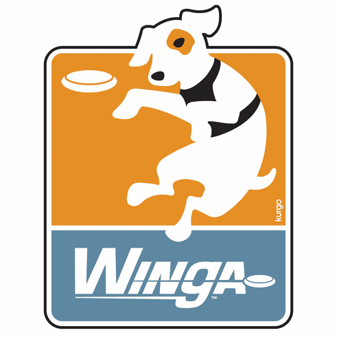 Kurgo Dog Products The Winga is a disc/mini-frisbee toy. The Winga starter kit includes thrower + 2 discs. ***We predict that this will be a 2010 AWARD WINNER***