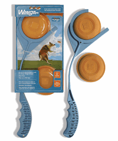 Kurgo Dog Products The Winga is a disc/mini-frisbee toy with 4 discs. *** $ave on this extra discs included***
