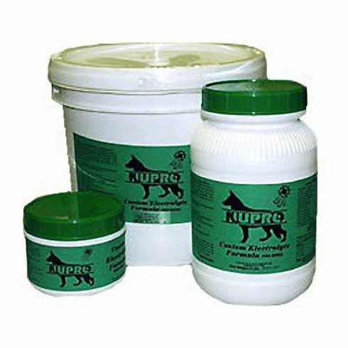 Nupro all natural Electrolyte Formula for small and large breeds