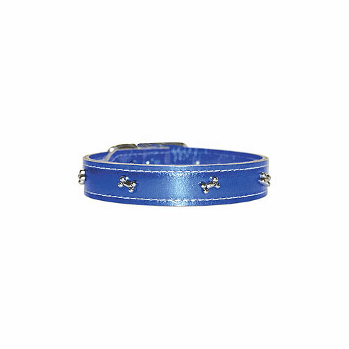 "Omni Pet Signature Metallic Collars choose length of 22"", 24"", or 26"" with 1"" Width"