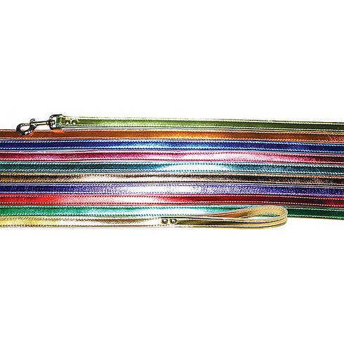 "Omni Pet Signature Metallic Leads #6075 3/4"" x 4 Ft"
