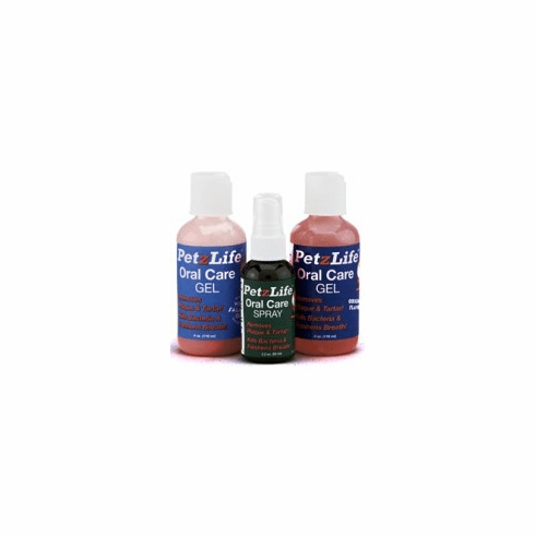Oral care Triple Pack Spray, Gel and Gel with Salmon oil