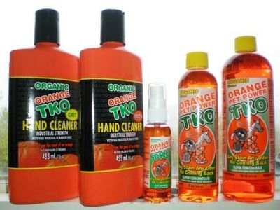 Orange TKO Industries 100% Organic Cleaning Pet Power  DEDICATED TO THE PRESERVATION OF THE EARTH from $4.95