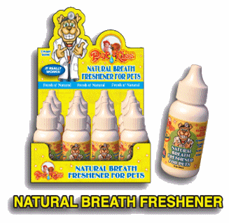 Pet Kiss  Natural Breath Freshener Minty