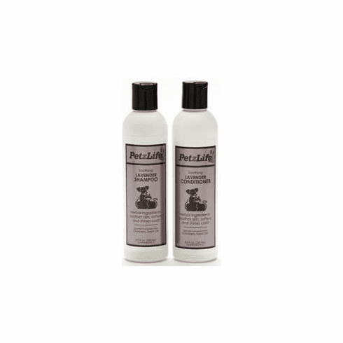 PetzLife Show White Shampoo & Conditioner Accentuates white and light coats. Helps restore body, fullness and sheen.