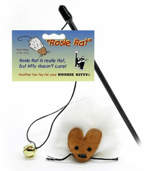 Rosie Rat wand buy 10 and $ave the original Teaser 18 inch safety capped black wand (includes shipping)