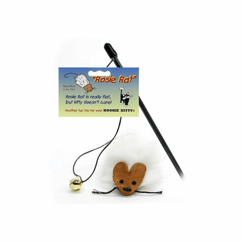 Rosie Rat wand or Rosie the Rat wand, Free Shipping,   the original Teaser 18 inch safety capped black wand