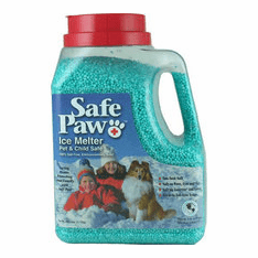 Safe Paw ice snow melt melter works like no other and is 100 percent safe  8 lb. 3 0z. jug  In Stock..Ready to Ship*