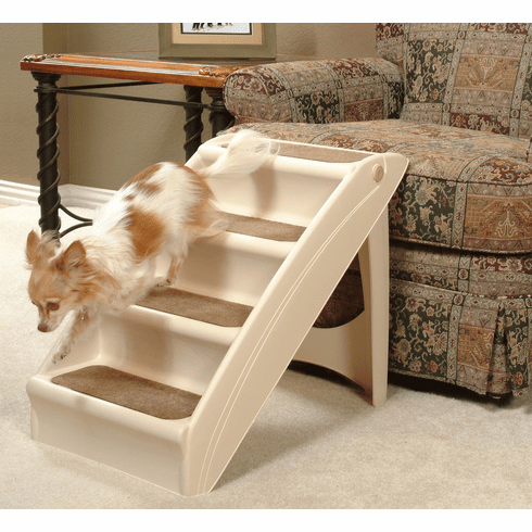 SOLVIT Products™ PupSTEP + Plus 4 Four step Pet Stairs **Buy Two (2)  and save**