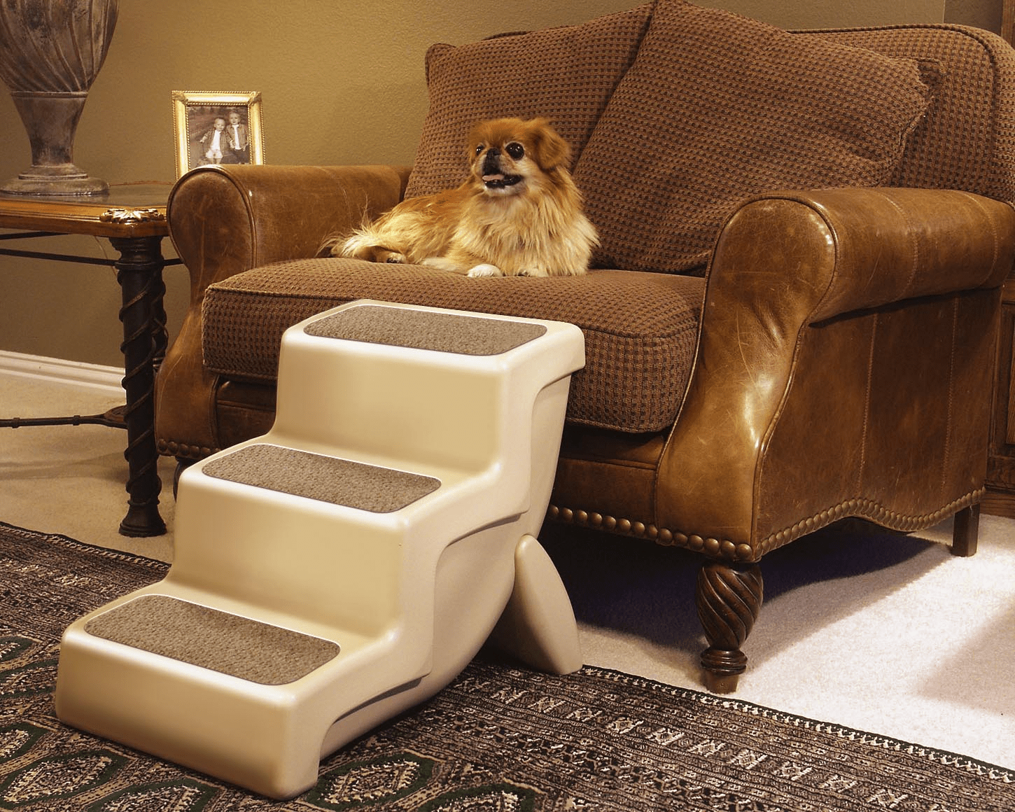 SOLVIT Products™ UltraLite 3 Three step Pet Stairs