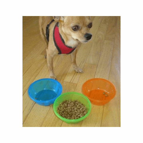 Z-pals Pet, Dog, Cat, food bowls, free shipping all three (3) for $4.49