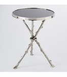Meadow  Stick Table | Nickel & Granite