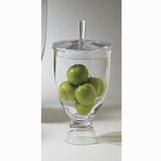 Acorn Pedestal Glass Jar | Small