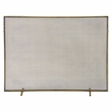 Adriana Fireplace Screen | Brass